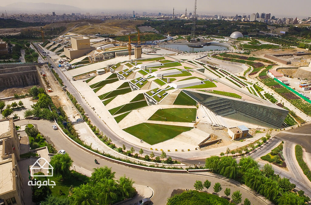 National Library project- green roof
