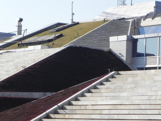 National Library (Tehran) - Green roof